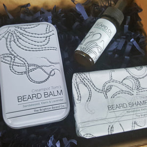 The Brighton Beard Company Beard Care Starter Kit