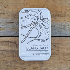 The Brighton Beard Company - Creampot Tom's Beard Balm, Lime & Basil