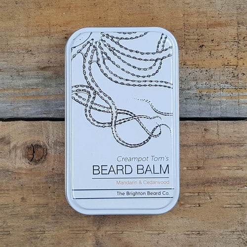 The Brighton Beard Company - Creampot Tom's Beard Balm, Mandarin & Cedarwood