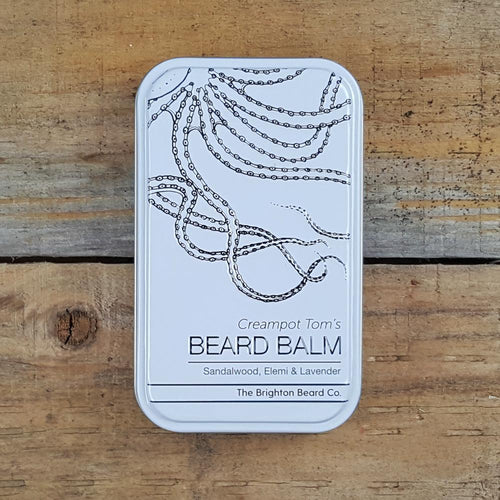 The Brighton Beard Company - Creampot Tom's Beard Balm, Sandalwood, Elemi & Lavender