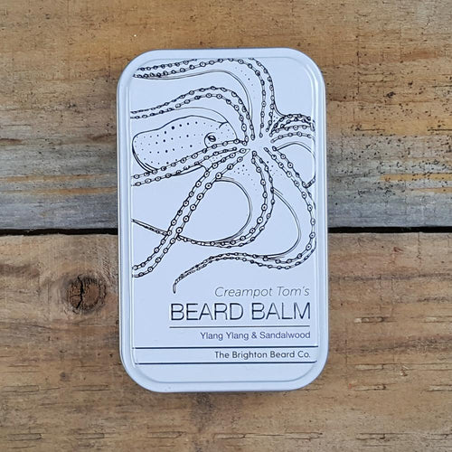 The Brighton Beard Company - Creampot Tom's Beard Balm, Ylang Ylang & Sandalwood