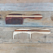 The Wooden Tie Company - Handled Wide Tooth Beard Comb