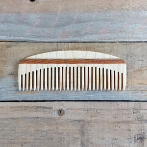 The Wooden Tie Company - Large Wide Tooth Beard Comb