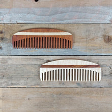 The Wooden Tie Company - Large Fine Tooth Beard Comb