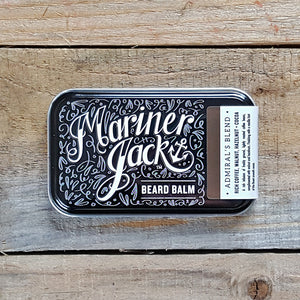 Mariner Jack - Admiral's Blend Beard Balm, Coffee, Walnut, Hazelnut & Cocoa