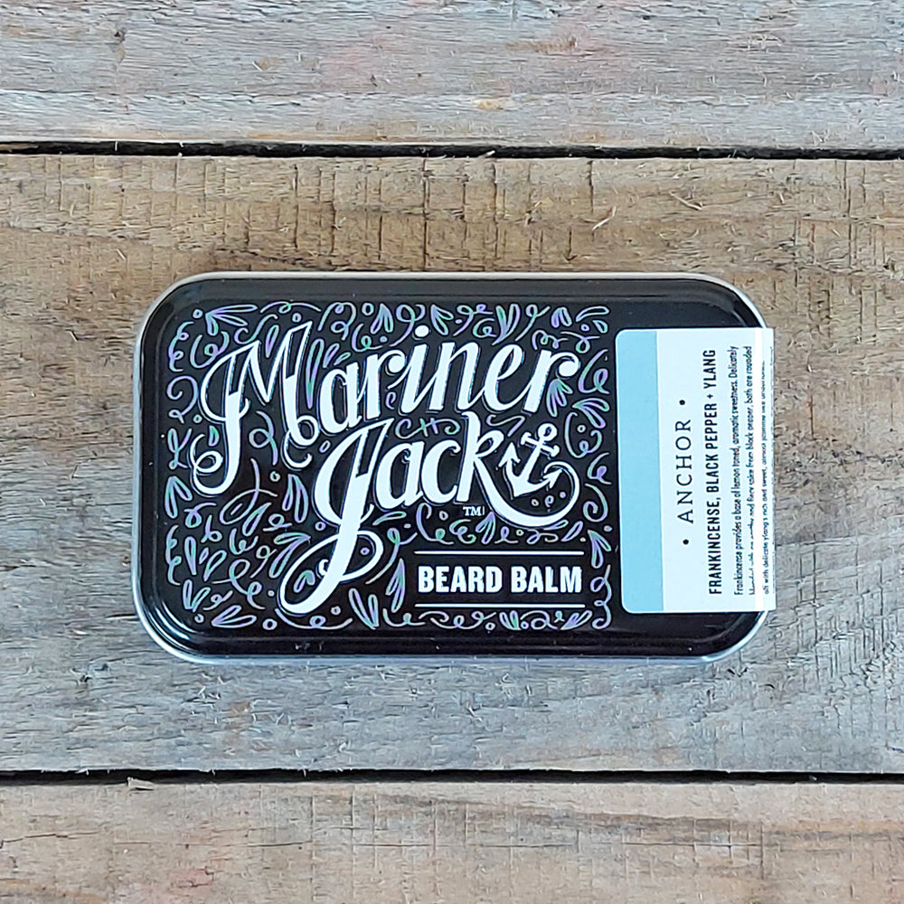 Mariner Jack - Anchor Beard Balm, Frankincense, Black Pepper & Ylang