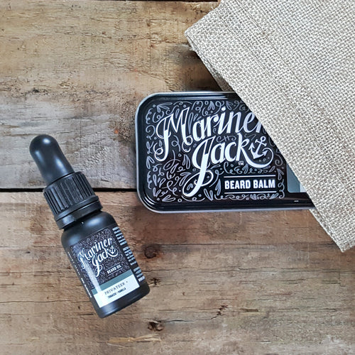 Mariner Jack Beard Oil & Balm Gift Set