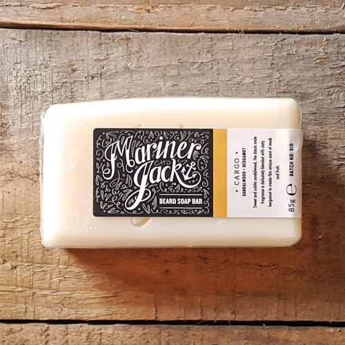 Mariner Jack - Cargo Beard Soap Block, Sandalwood & Bergamot