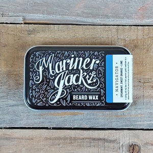 Mariner Jack - Navigator Beard & Moustache Wax, Spearmint, Sweet Orange & Lime