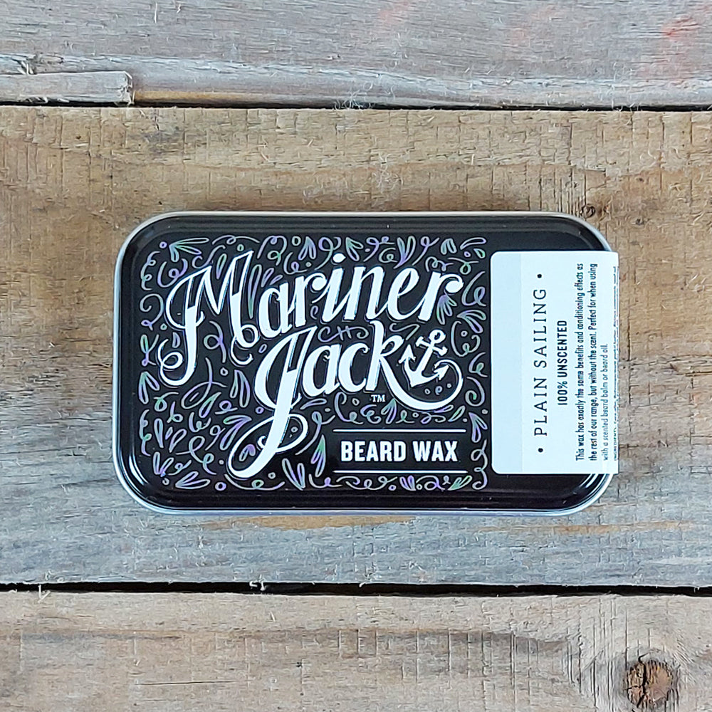 Mariner Jack - Plain Sailing Beard Wax, Unscented