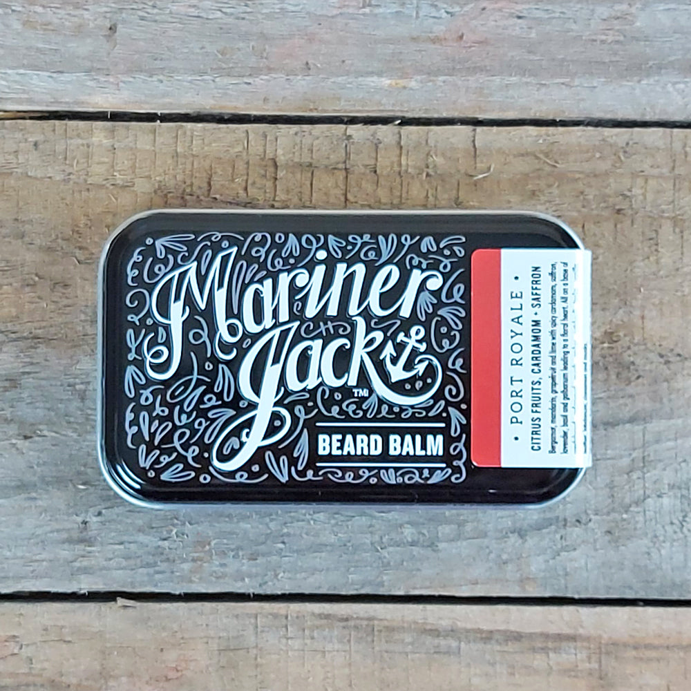 Mariner Jack - Port Royale Beard Balm, Citrus Fruits, Cardamom & Saffron