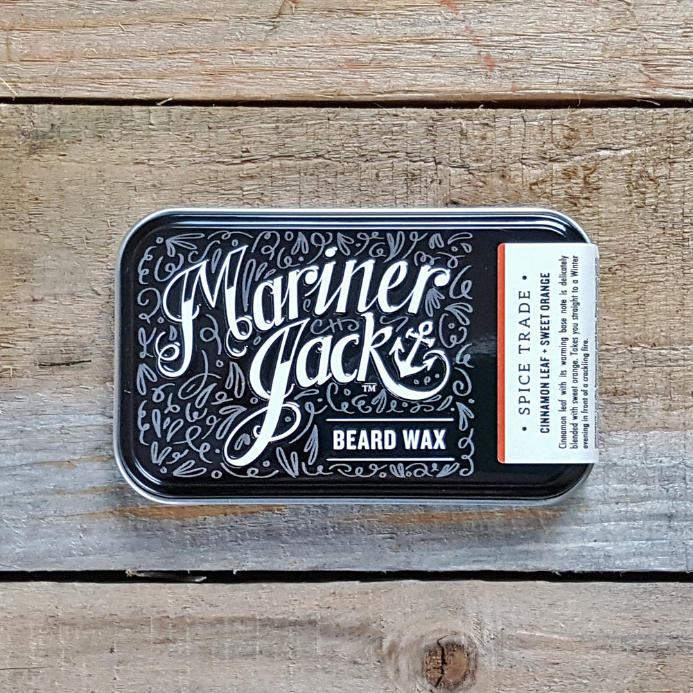 Mariner Jack - Spice Trade Beard Wax, Cinnamon Leaf & Sweet Orange