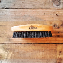 Kent MG2 Oval Beech Beard Brush, Black Bristles