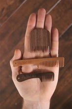 Big Red No.3 Beard Comb