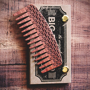Big Red No.9 Beard Comb - The Metric