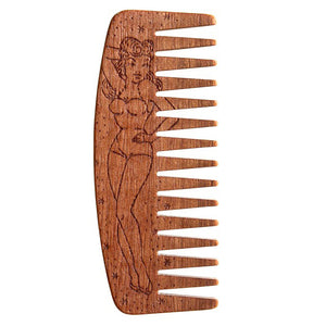 Big Red No.9 Beard Comb - Pin Up Girl