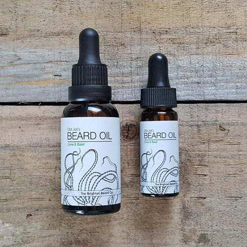 The Brighton Beard Company - Old Joll's Beard Oil, Lime & Basil