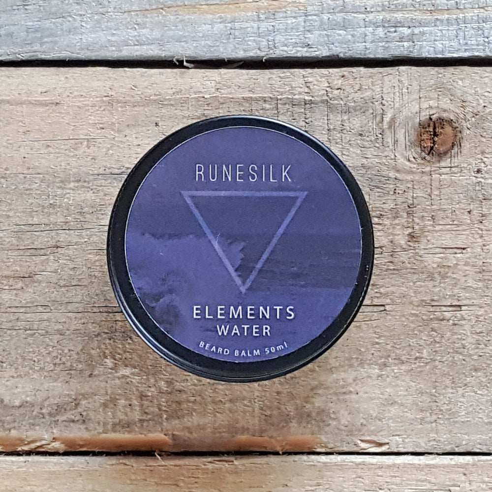 Runesilk Elements Water Beard Balm