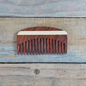 The Wooden Tie Company - Small Wide Tooth Beard Comb