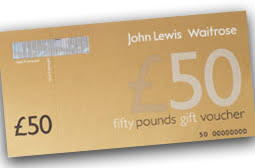 Free John Lewis Voucher For Christmas!