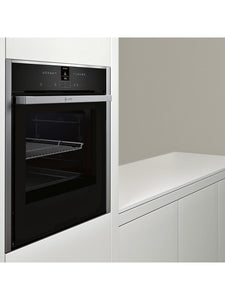 Neff B57CR22N1B Slide and Hide Pyrolytic Single Electric Oven Stainless Steel - smartappliancesuk