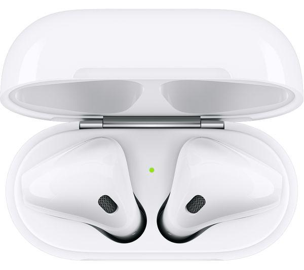 APPLE AirPods with Wireless Charging Case (2nd generation) - White - smartappliancesuk