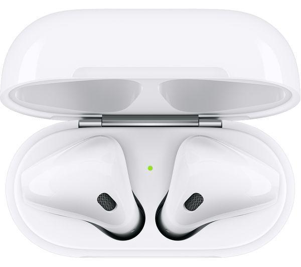 APPLE AirPods with Wireless Charging Case (2nd generation) - White - - smartappliancesuk