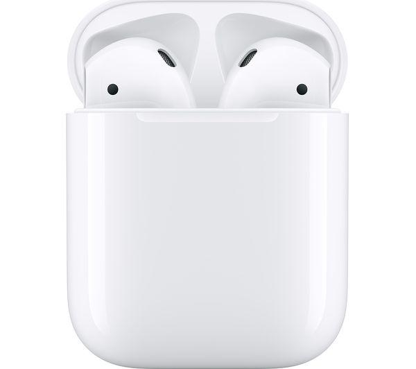 Genuine APPLE AirPods with Charging Case (2nd generation) - White - - smartappliancesuk