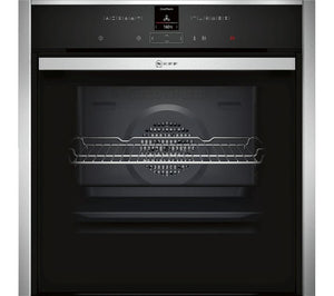 NEFF B47CR32N0B Slide&Hide Electric Oven - Stainless Steel - smartappliancesuk