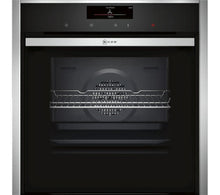 NEFF B58CT68N0B Slide and Hide Electric Oven - Stainless Steel - smartappliancesuk