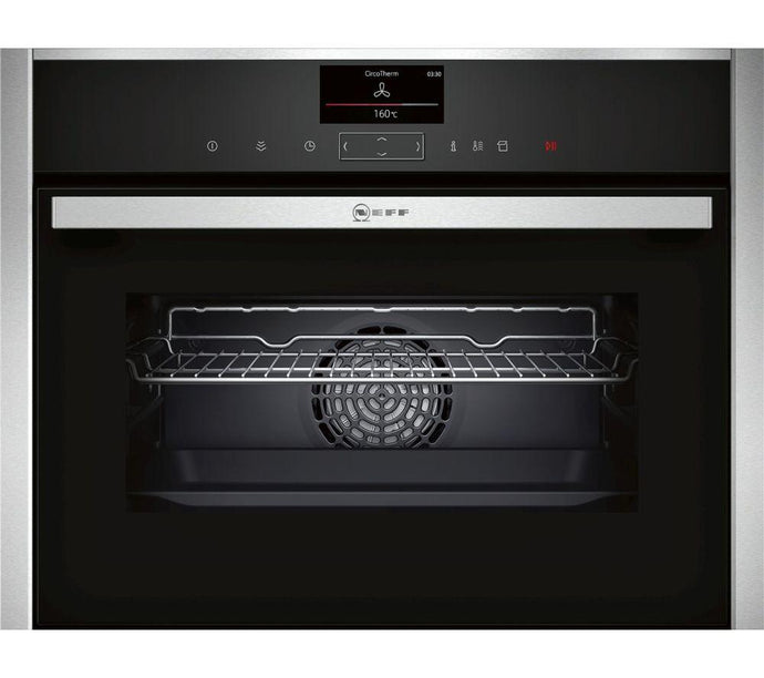 NEFF C17FS32N0B Compact Electric Steam Oven - Stainless Steel - smartappliancesuk