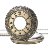 Vintage Gold Half Hunter Pocket Watch