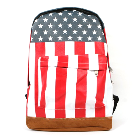 All American Stars & Stripes Backpack - BoardwalkBuy - 2