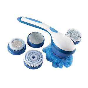 5-in-1 Rotating Shower Brush