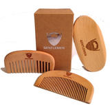 Men's Beard Brush & Comb Kit
