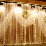 10 Feet Warm White String Curtain Lights