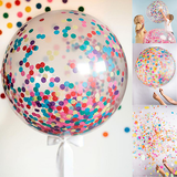 3 PCS Jumbo Confetti Balloon Set