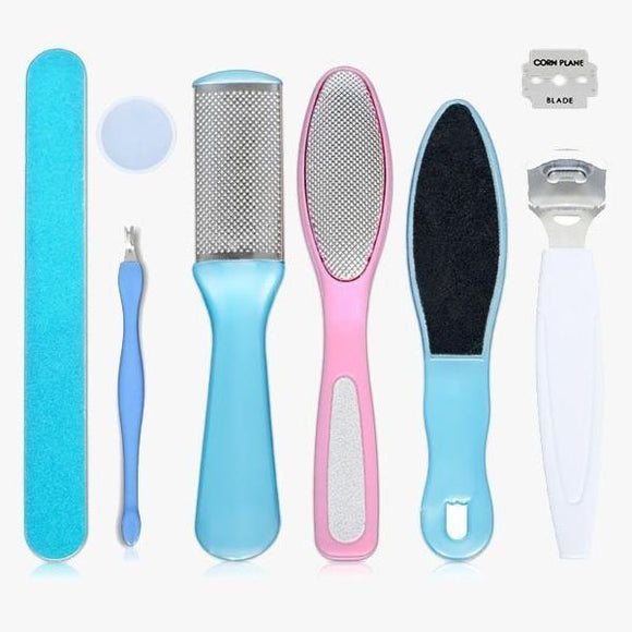Exfoliating Pedicure Tool Set