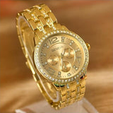 Exquisite Gold Plated Watch