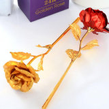 24K Forever Gold Plated Rose - Assorted Colors