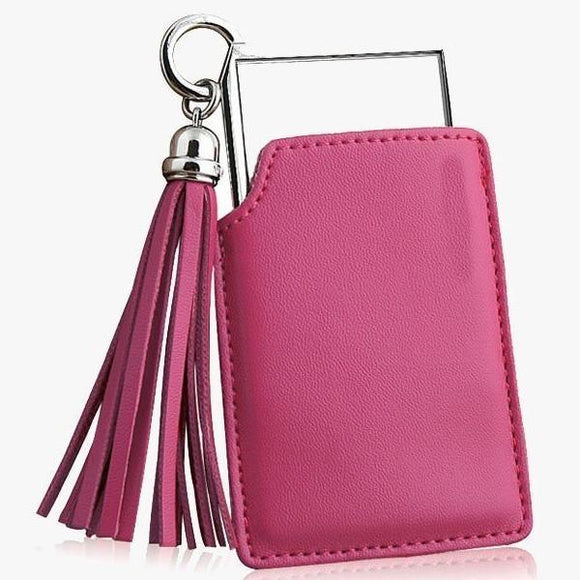 Portable Pink Pocket Mirror
