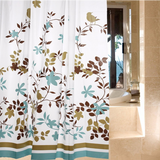 Waterproof Shower Curtain - Bird Design