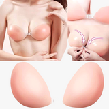 100% Silicone Strapless/Backless Invisible Bra