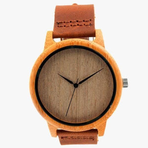 Natural Brown Wooden Watch