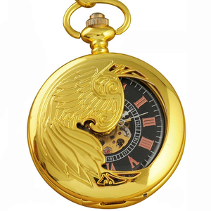 Gold Half Hunter Pocket Watch