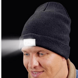 Extra Warm LED Flashlight Beanie