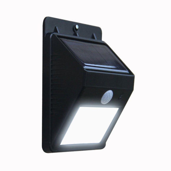 LED Solar-Powered Motion Sensor Security Light