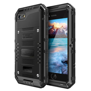Strong Hybrid Touch Shockproof Armor Back Case Cover for iPhone