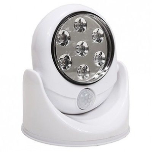 7-LED Motion-Activated Light - Assorted Colors