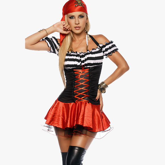 Woman Pirate Halloween Costume